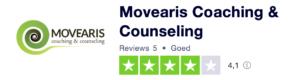 trustpilot review voor movearis coaching en therapie in Schagen